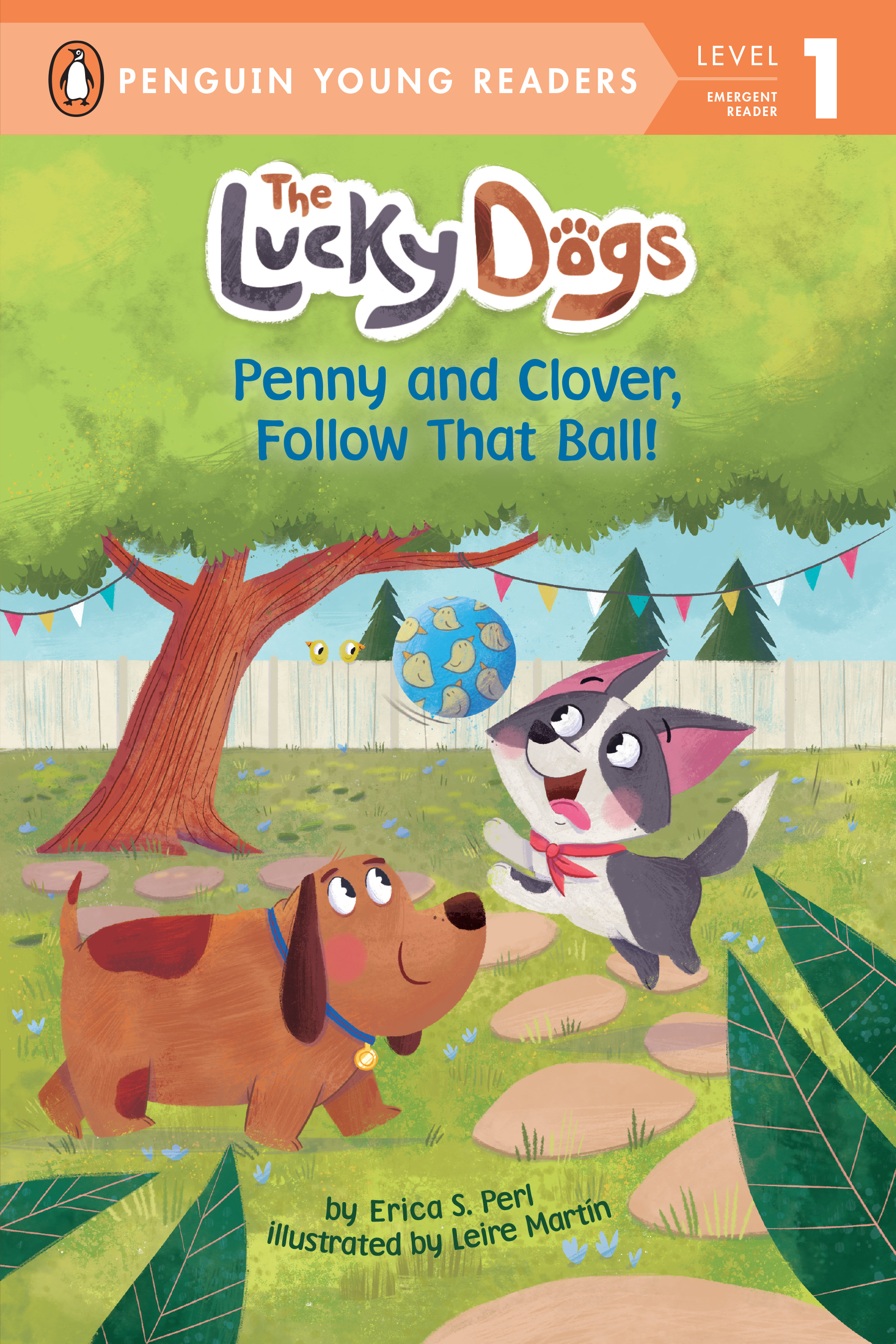 Penny and Clover, Follow That Ball! | First reader