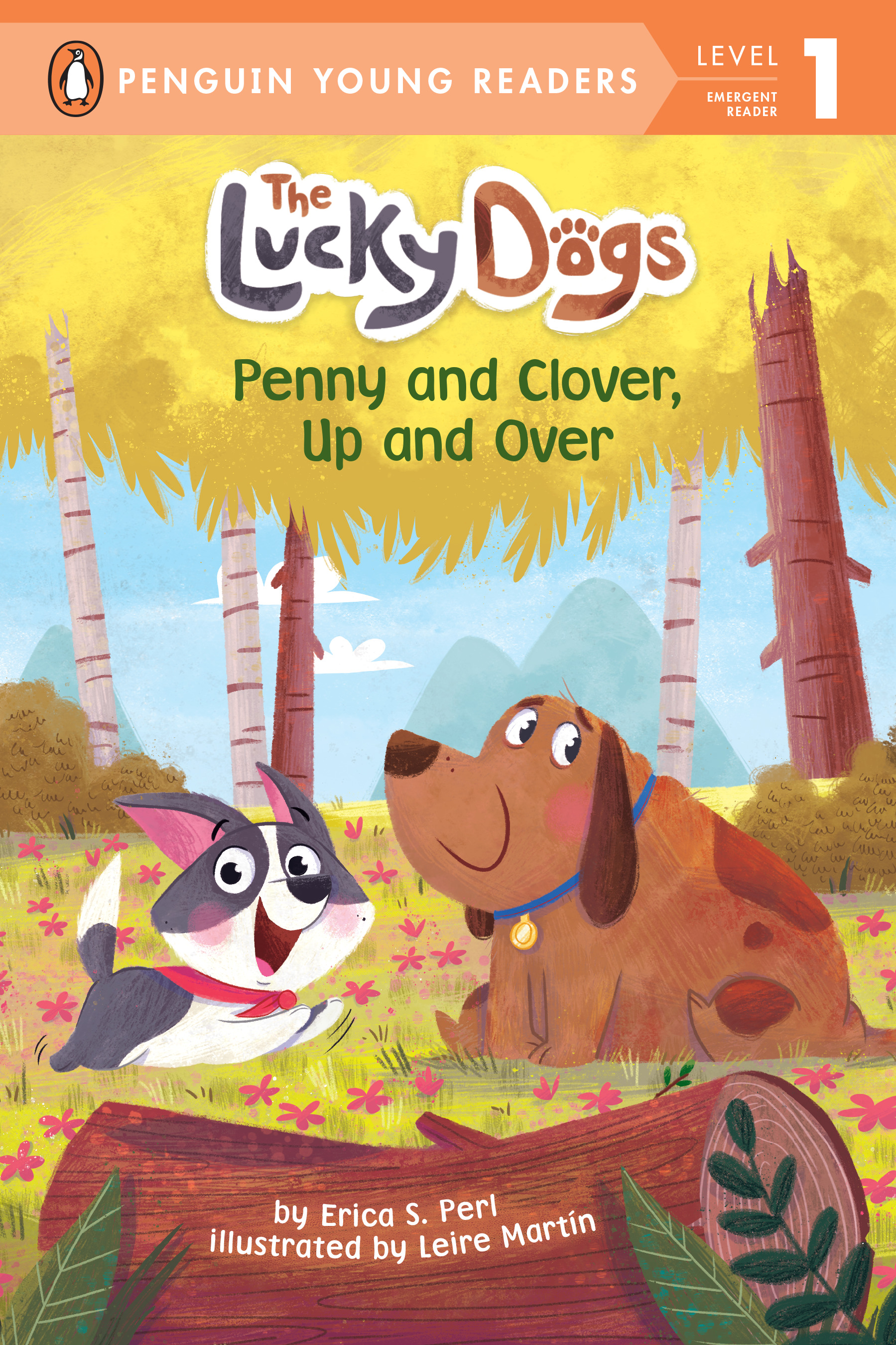 Penny and Clover, Up and Over | First reader