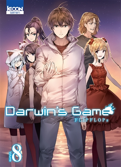 Darwin's game T.08  | 9782355929250 | Manga adulte