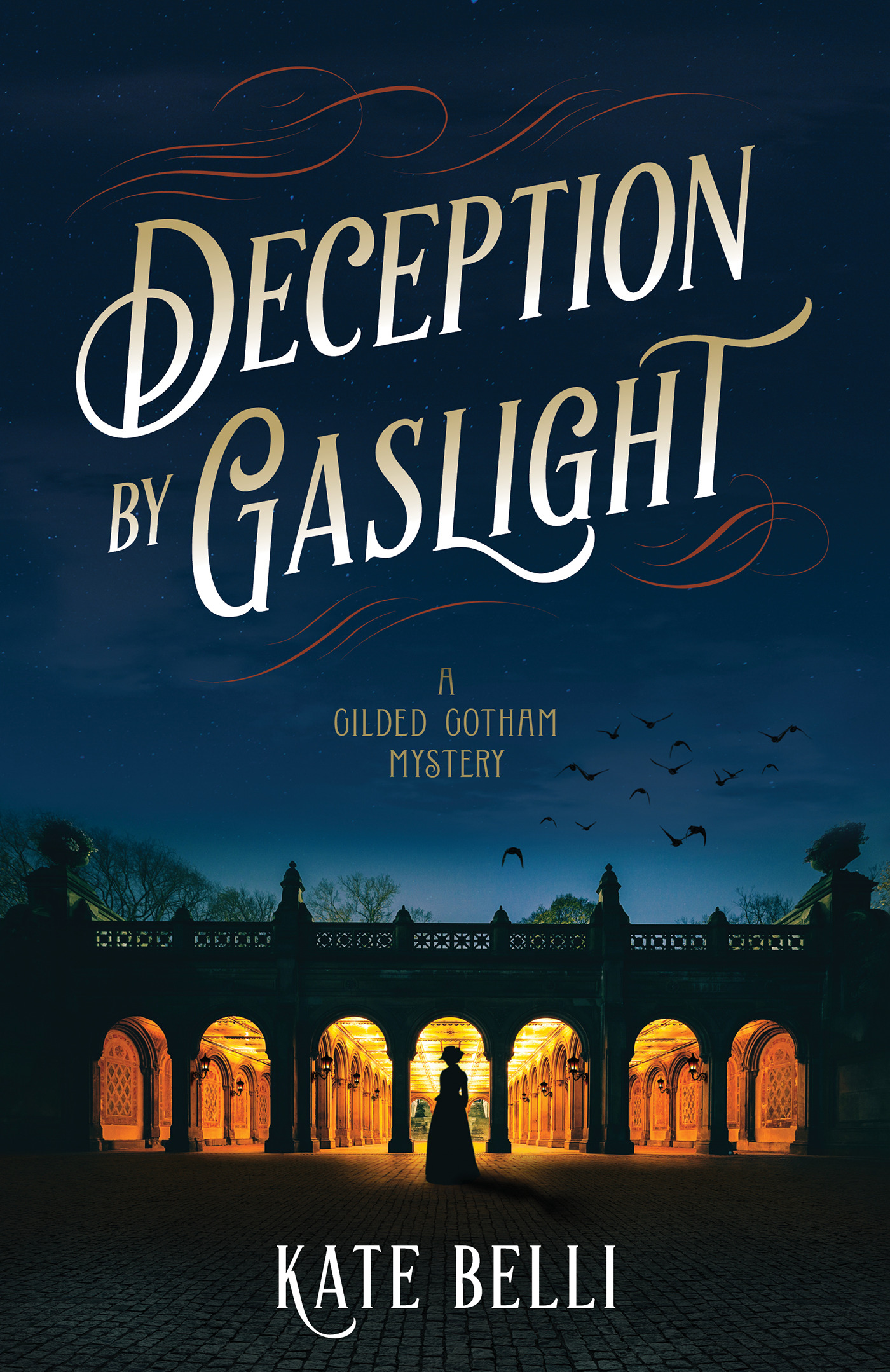 A Gilded Gotham Mystery T.01 -  Deception by Gaslight | Thriller