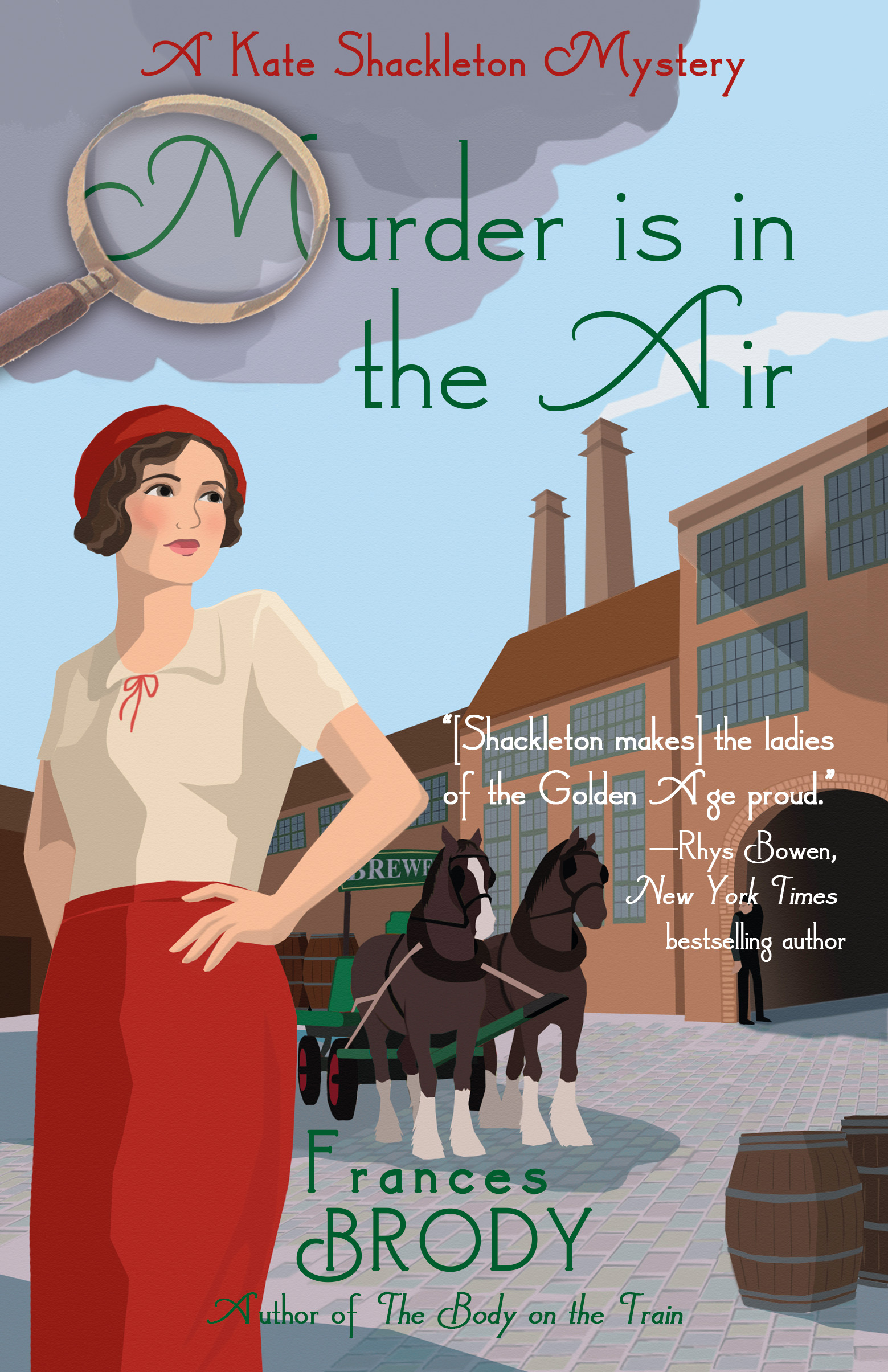 A Kate Shackleton Mystery T.12 - Murder is in the Air  | Thriller