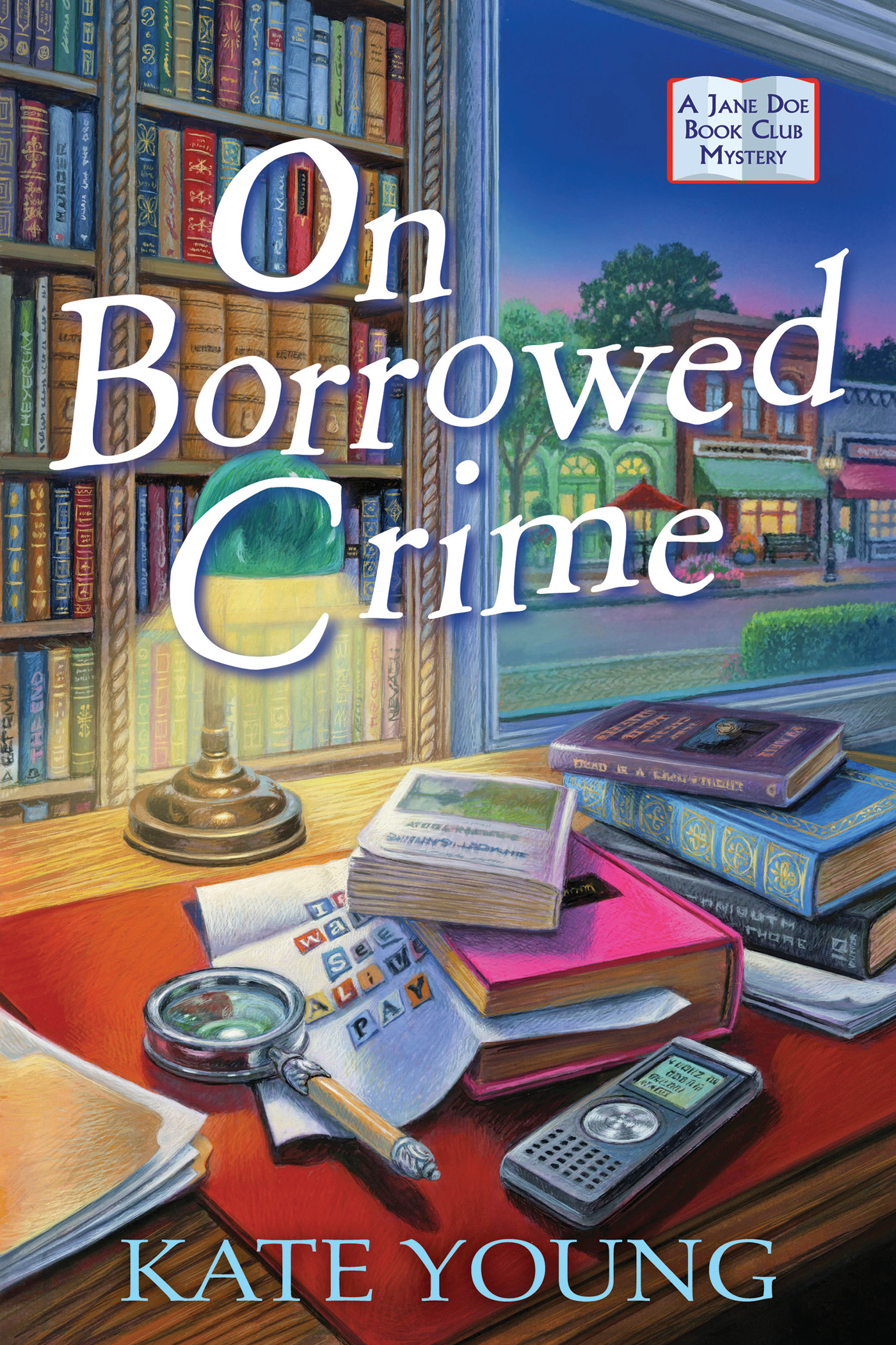 A Jane Doe Book Club Mystery T.01 - On Borrowed Crime | Thriller