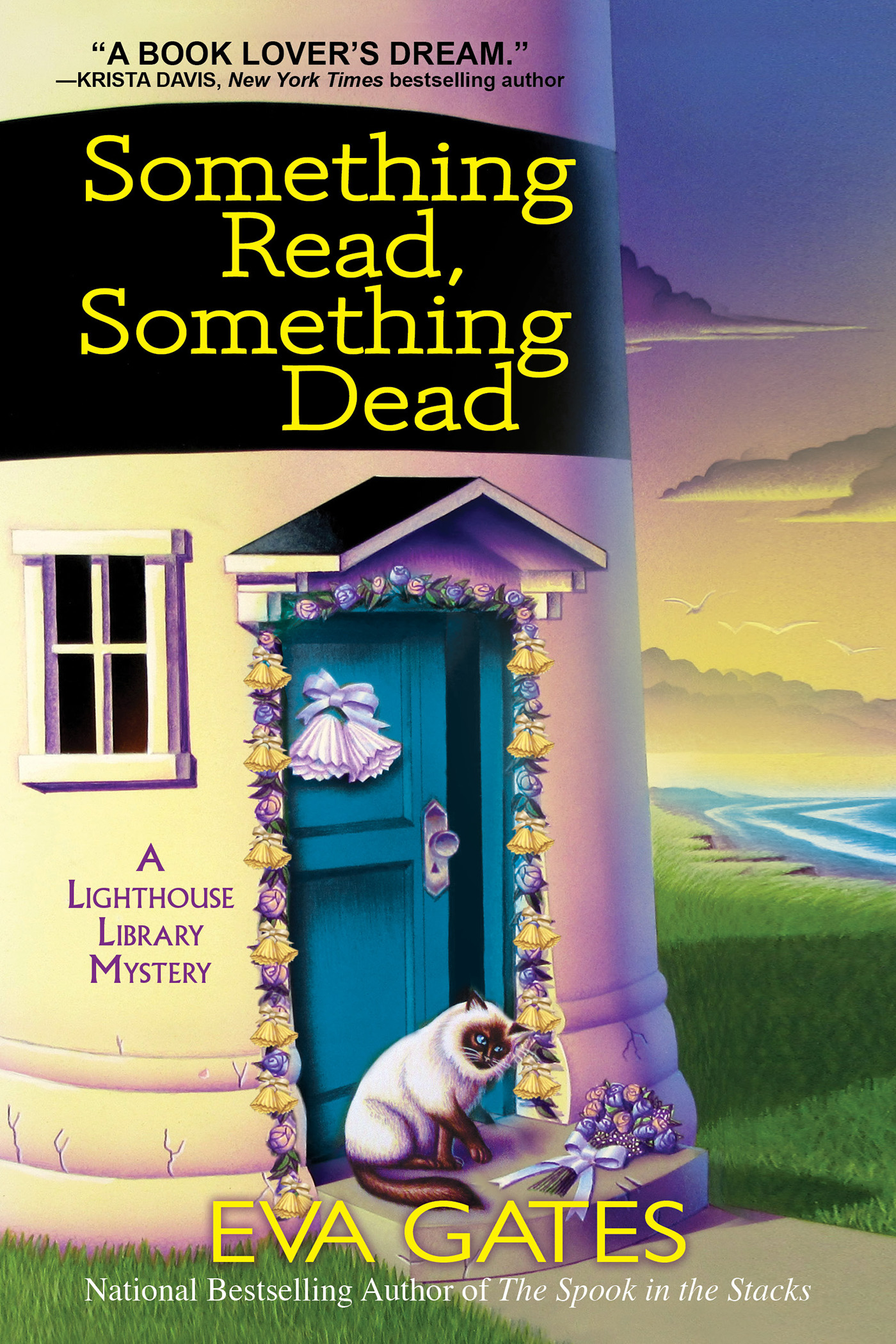 A Lighthouse Library Mystery T.05 - Something Read Something Dead | Thriller