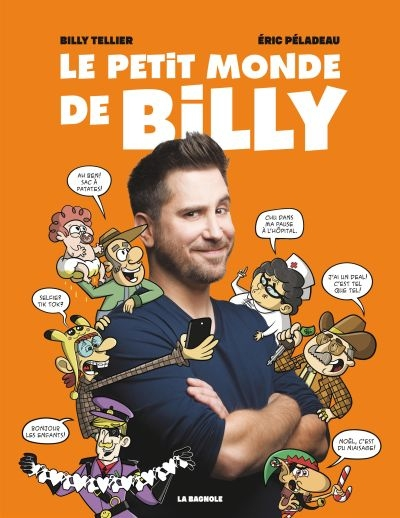 petit monde de Billy (Le) | 9782897143558 | BD