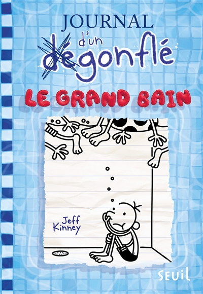 Journal d'un dégonflé T.15 - Le grand bain  | 9791023512359 | Romans 9 à 11 ans