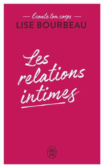 relations intimes (Les) | 9782290223185 | Sexualité
