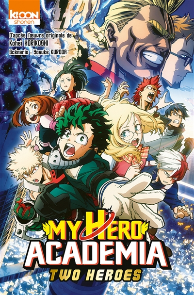 My hero academia : Two heroes | 9791032707340 | Manga