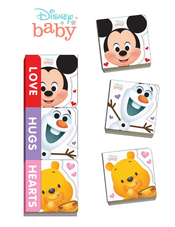 Disney Baby Love, Hugs, Hearts | Picture books