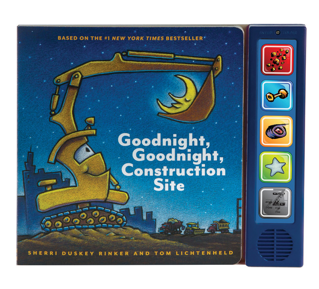 Goodnight  Goodnight Construction Site Sound Book : (Construction Books for Kids, Books with Sound for Toddlers, Children's Truck Books, Read Aloud Books) | Picture books