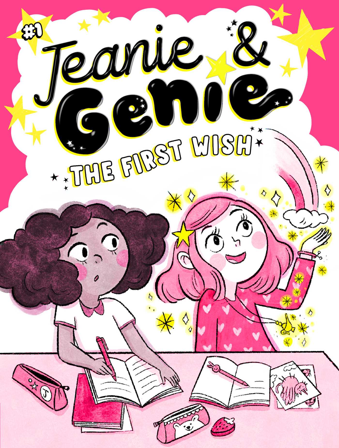 Jeanie & Genie T.01 - The First Wish | 6-8 years old