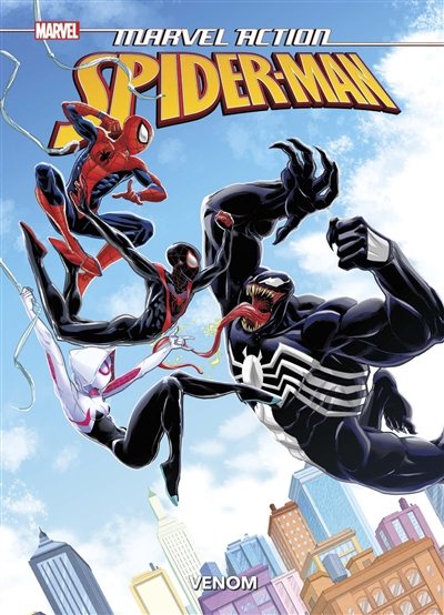 Marvel action Spider-Man - Venom | 9782809492415 | BD