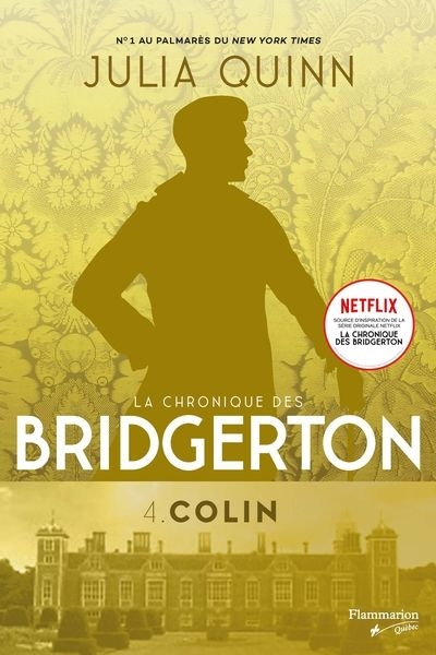 La chronique des Bridgerton  T.04  - Colin | 9782890779907 | New Romance | Érotisme