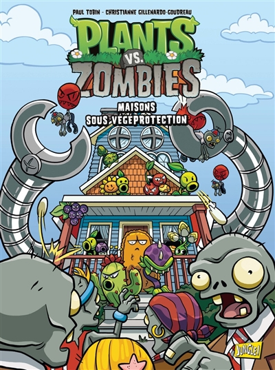 Plants vs zombies T.15 - Maisons sous végéprotection  | 9782822233668 | BD