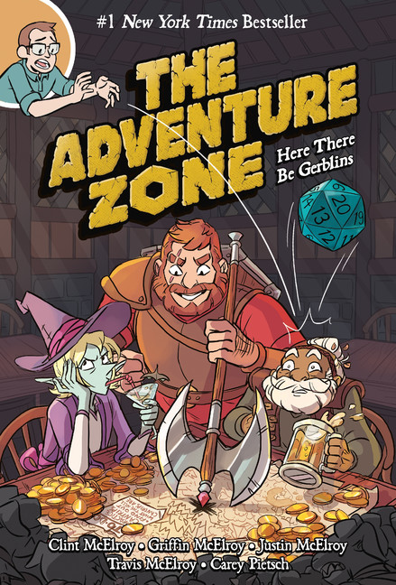 The Adventure Zone T.01 - Here There Be Gerblins | Graphic novel & Manga