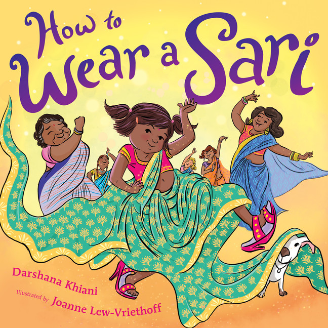 How to Wear a Sari | Picture books