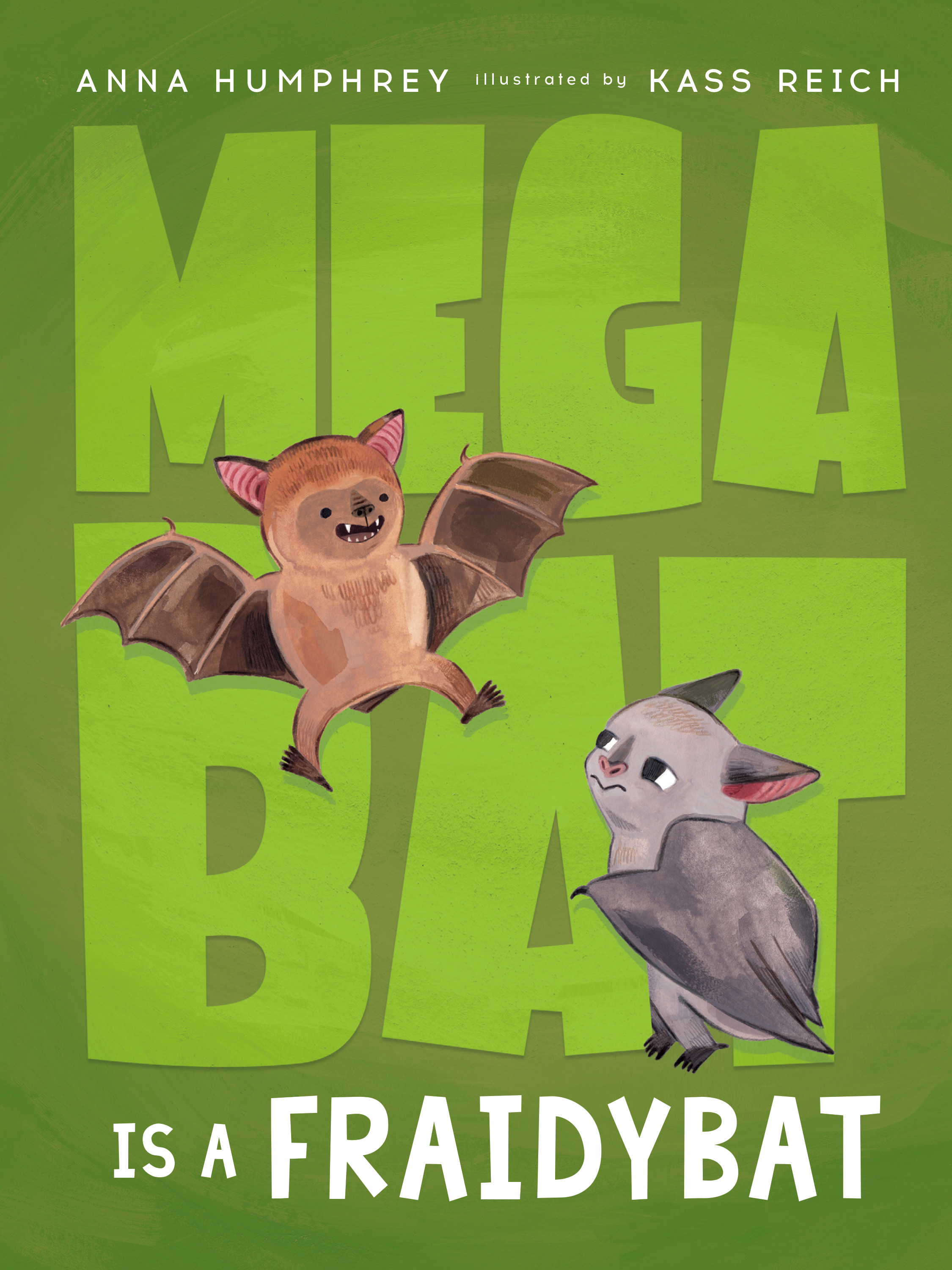 Megabat T.03 - Megabat Is a Fraidybat | 6-8 years old
