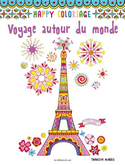 Voyage Autour Du Monde 9782756525112 Mandalas Et Coloriage