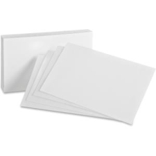 Cartes index unies d'Oxford®, 6 x 4 po | Papier,cahiers, tablettes, factures, post-it