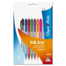 Stylos à bille rétractables InkJoy® 100 RT de Paper Mate®, pointe large | Stylos