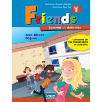 Friends Grade 3 - Learning and Activities Book | 9782761779838 | Cahier d'apprentissage - 3e année