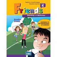 Friends Grade 4 - Learning and Activities Book | 9782761778541 | Cahier d'apprentissage - 4e année