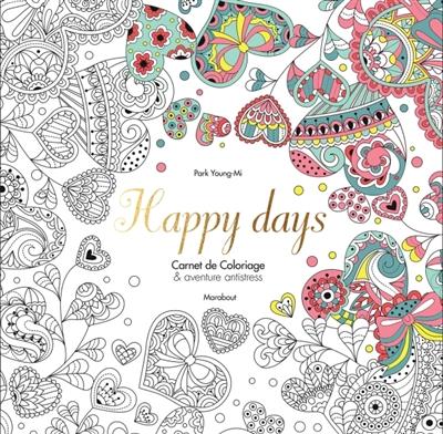 Coloriage Adulte Marabout.Happy Days 9782501109833 Mandalas Et Coloriage Adulte