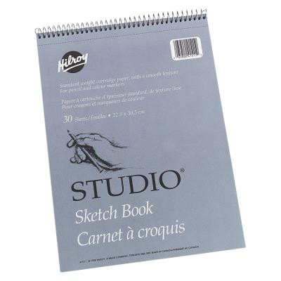 Carnet de croquis Studio® de Hilroy, 9 x 12 po | Papier,cahiers, tablettes, factures, post-it