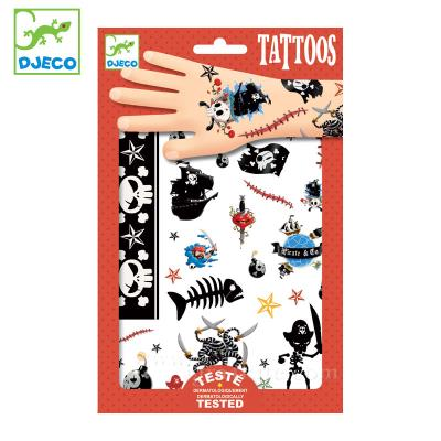 Tatouages - Pirates | Autocollant et pochoir