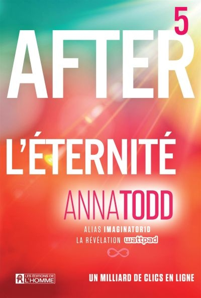 After T.05 - L'éternité  | 9782761943000 | New Romance | Érotisme