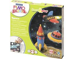 FIMO PAQUET THEMATIQUES SPACE | Bricolage divers