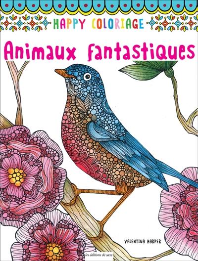 Coloriage Adulte Animaux Fantastiques.Animaux Fantastiques 9782756525723 Mandalas Et Coloriage Adulte