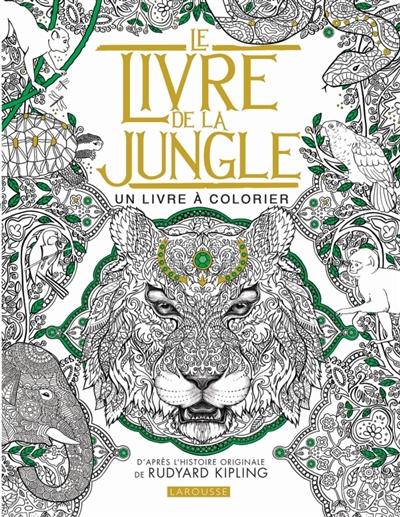 Coloriage Adulte Histoire.Livre De La Jungle Le 9782035927446 Mandalas Et