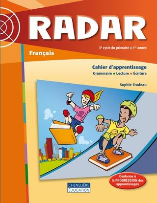 Radar 3e Cycle 1re Annee Cahier D Apprentissage