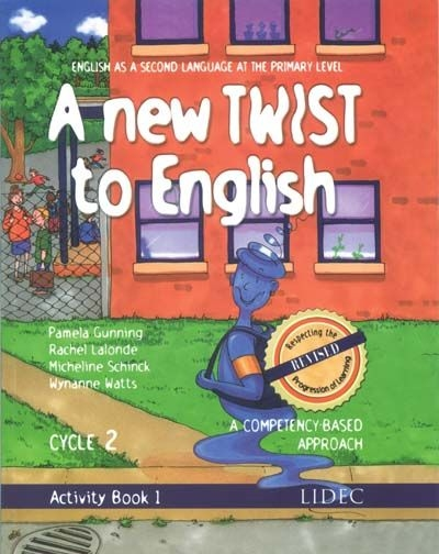 A new twist to English - Activity book 1 - 3e année | 9782760856264 | Cahier d'apprentissage - 3e année
