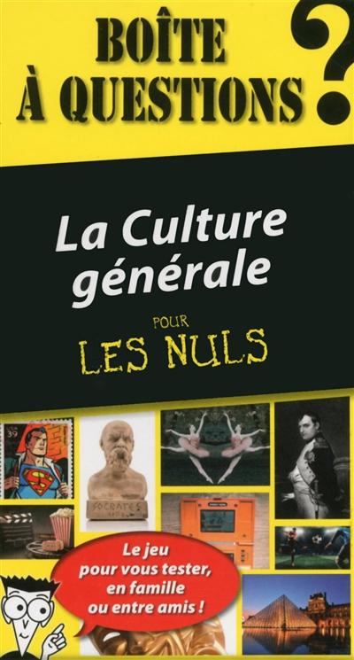 Culture générale adulte