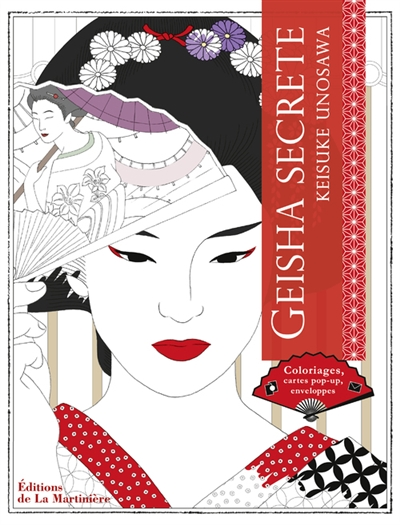 Coloriage Adulte Geisha.Geisha Secrete 9782732478258 Mandalas Et Coloriage