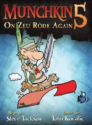 Munchkin 5: On Zeu Rôde Again | Extension