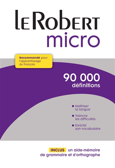 Robert micro (Le) | 9782321006435 | Dictionnaires