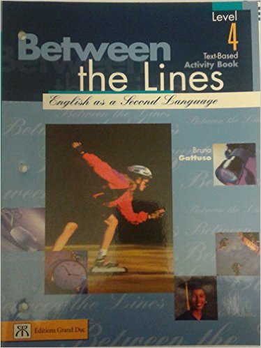 Between the lines  | 9780039286460 | Cahier d'apprentissage - Secondaire 4