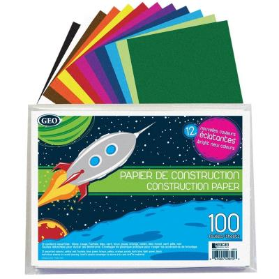 Papier de construction 100 feuilles | Papier,cahiers, tablettes, factures, post-it