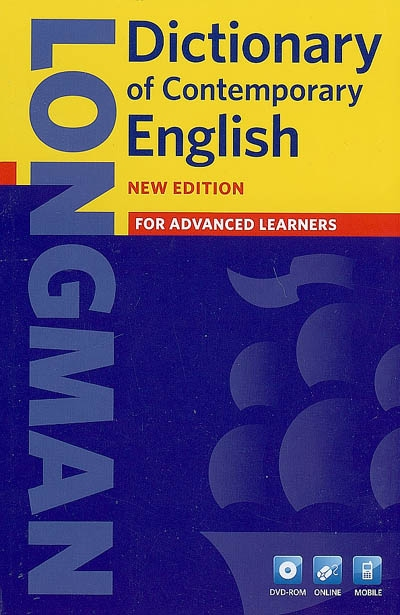 Longman dictionary of contemporary English + DVD-rom | 9781408215333 | Dictionnaires