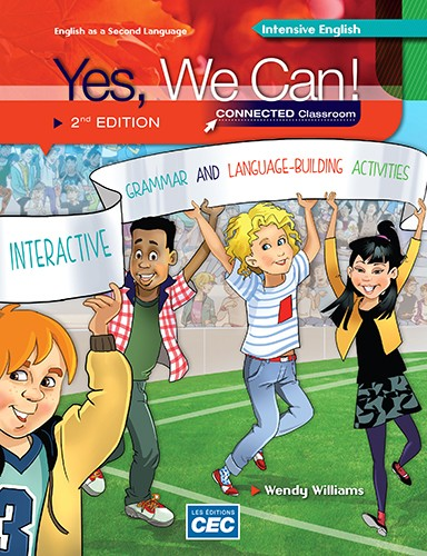 Yes we can - 2e ed - Intensive english | 9782761795005 | Cahier d'apprentissage - 4e année
